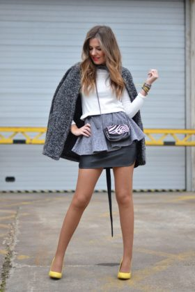 Grey Outfits That Will Make You Fashionable During The Winter Season