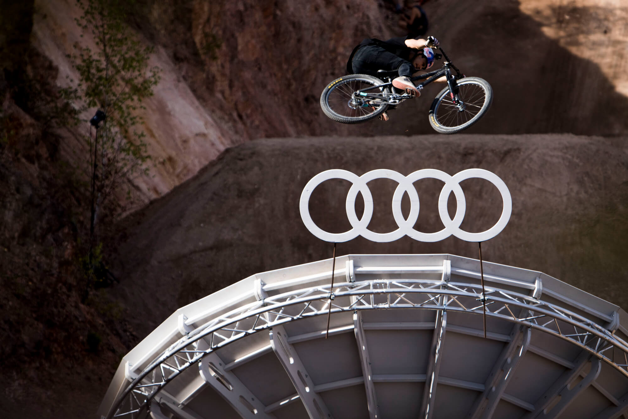 Shot for Masters of Dirt, at Audi Nines Germany