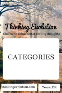 Categories- Thinking Evolution