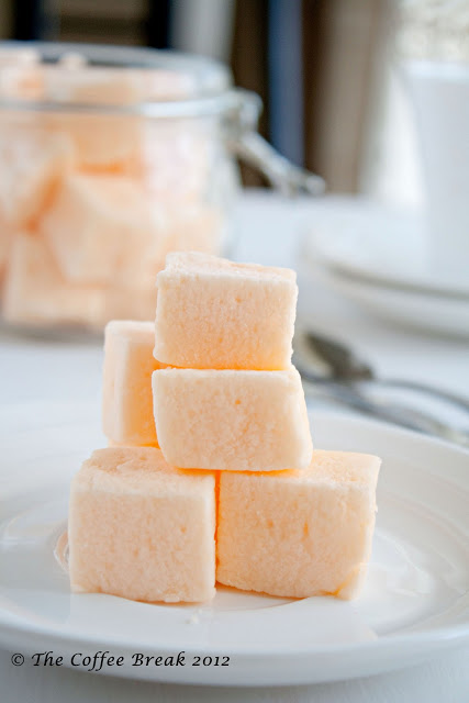 Hello New Year and Orange Marshmallow recipe