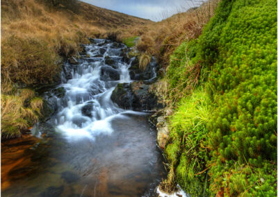 River lyd on Dartmoor
