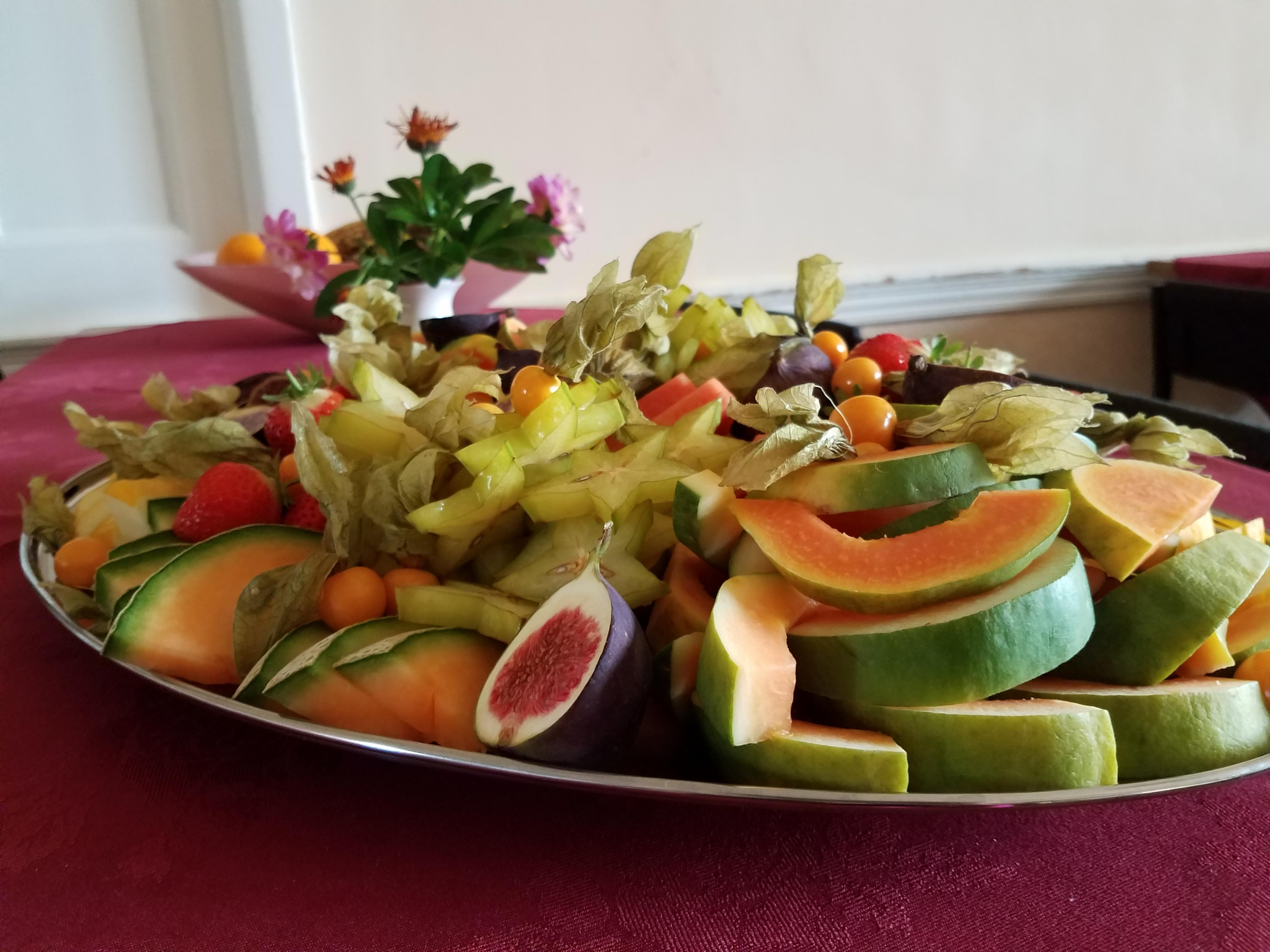 Tasty fruit during break