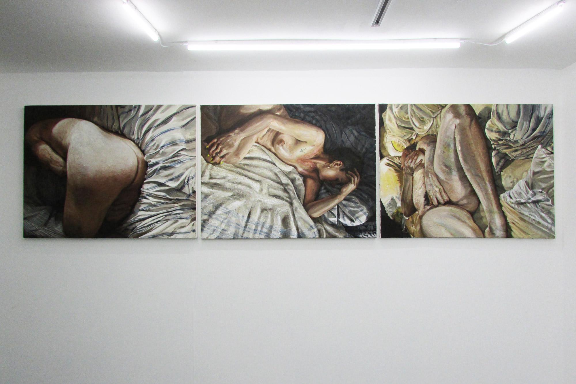 W.K.Lyhne-three-at-LUNGLEY-Gallery