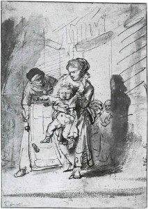 Rembrandt_The_Naughty_Boy_c1635_pen_and_bistre