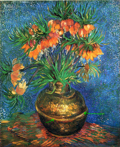 fritillaries-in-a-copper-vase-1887_van_gogh_green_arrows_show_empasised_vase_decoration