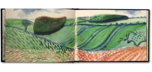 David_Hockney_pages_from_A_Yorkshire_Sketchbook_c2004