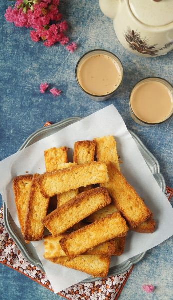How To Make Bakery Cake Rusk At Home