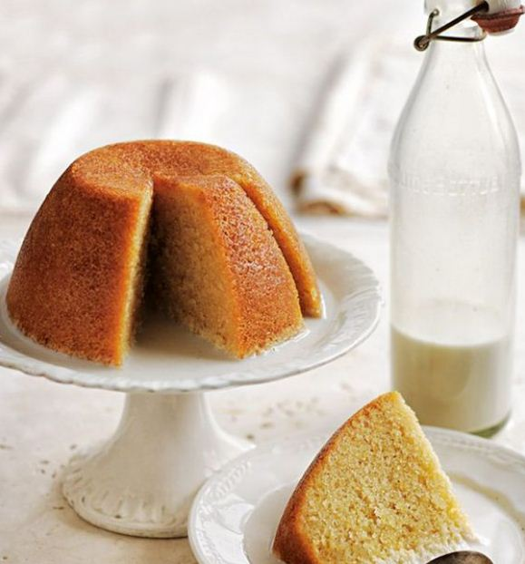 Syrup Golden Cap Pudding