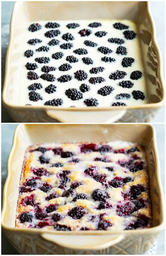 Blackberry-Cobbler-Before-and-after
