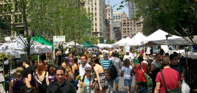 Union Square: Fresh buys at this shopping district in New York