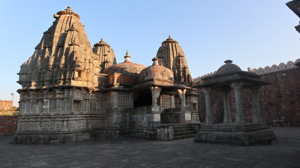 Temple in Kumbhalgarh fort