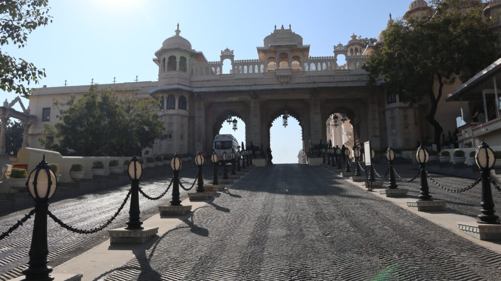 City Palace Udaipur - Entrance Gate