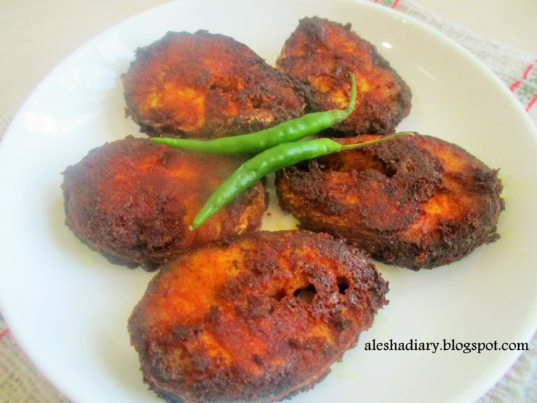 Sheela meen fry / Barracuda fish fry