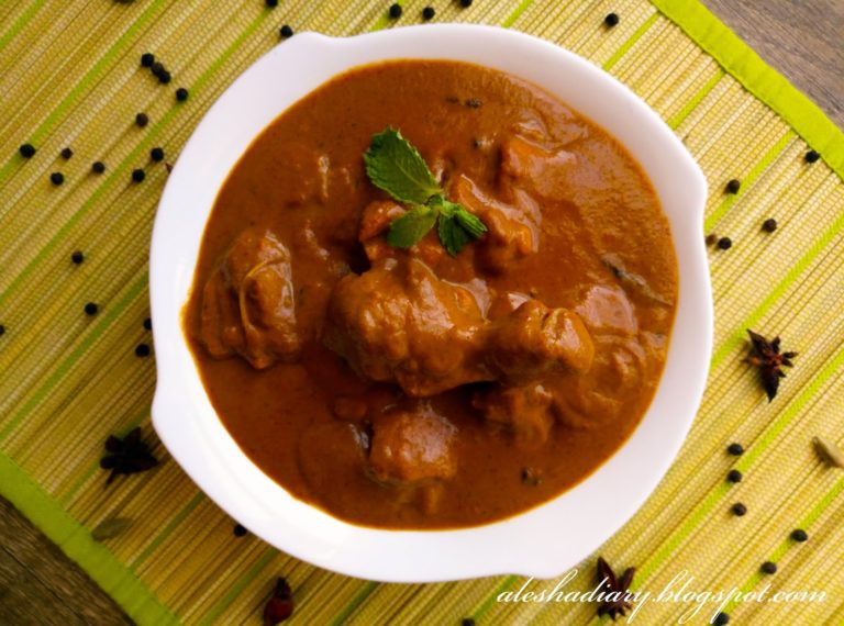 One pot Dum chicken curry – How to make chicken curry