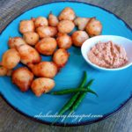 My Tea Time Snacks – Vada from leftover Idli/Dosa Batter (Fritters) – Easy vadai