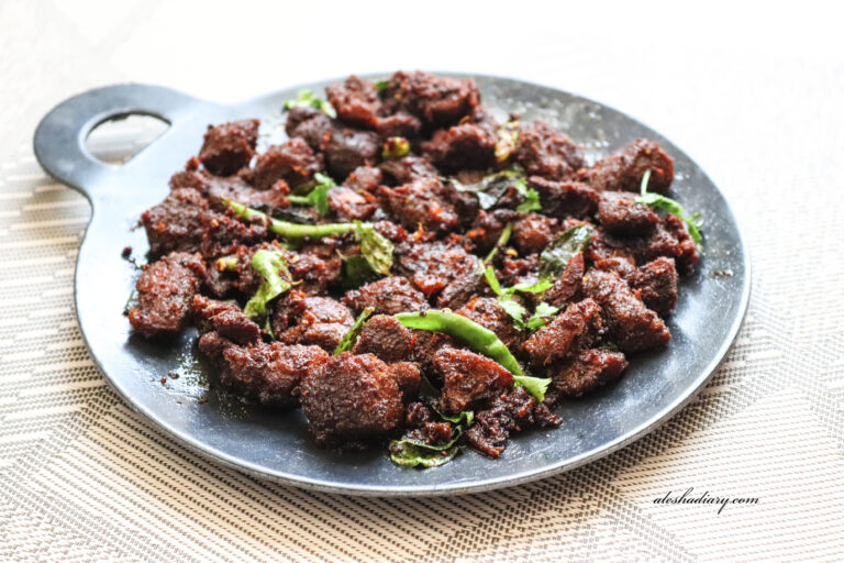 My First Hyderabadi Food @ Oman-Tala Hua Gosht Recipe – Hyderabadi style Mutton Fry