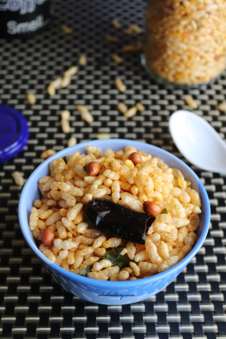 Masala Pori – Spicy Puffed Rice – Murmura