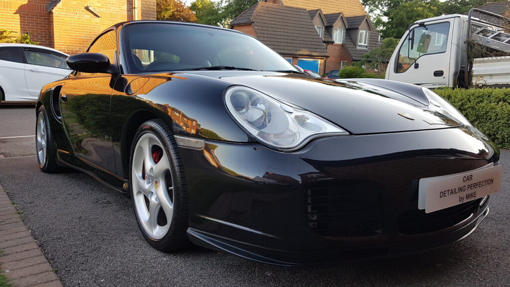 Porsche 911 Turbo full correction and ceramic coating