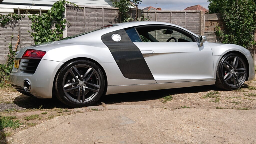 Audi R8 after a wash and polish
