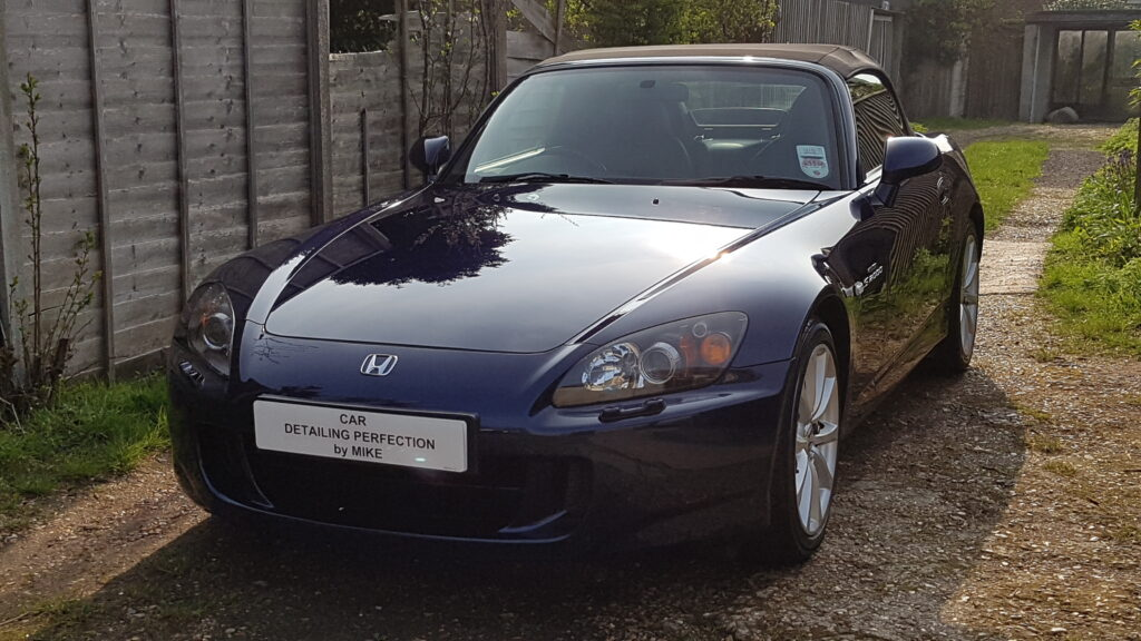Honda S2000 correction and polish