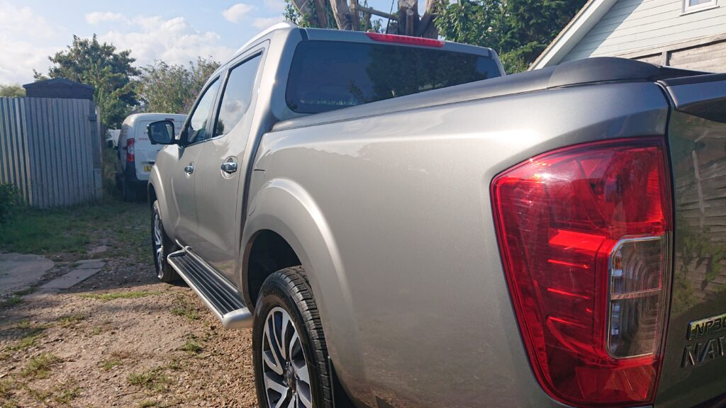 Nissan Navara ceramic coated