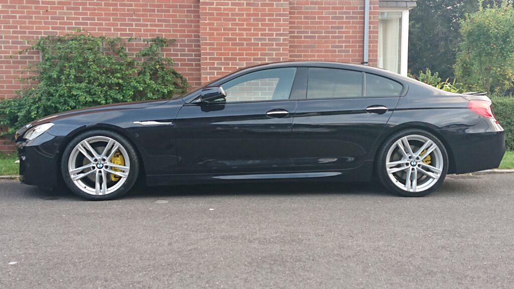 Bmw 6 series ceramic coated paint & wheels