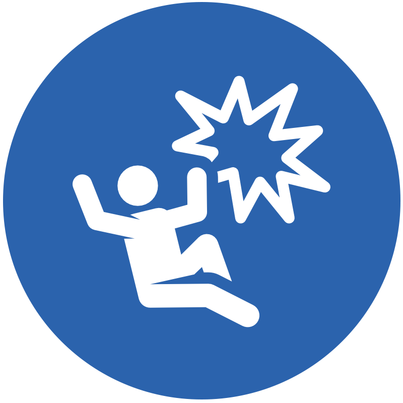Icon representing post injuries