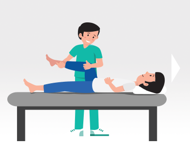 Osteopathic treatment and examination
