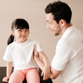 Children can benefit from osteopathy