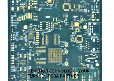 10 layers - Industrial Control -Heneng Technology - PCB.108
