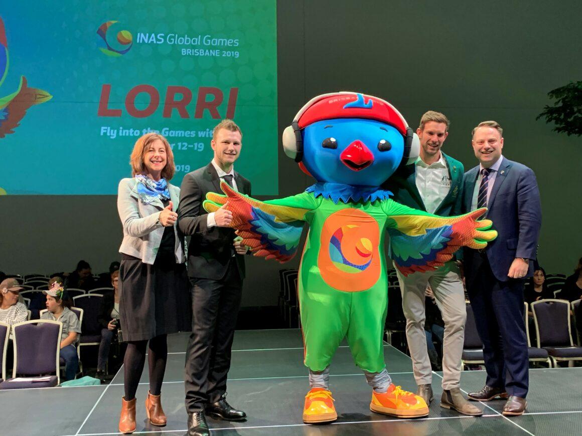 Meet 'Lorri' the Lorikeet – mascot of the 2019 World Intellectual Impairment Sport Global Games