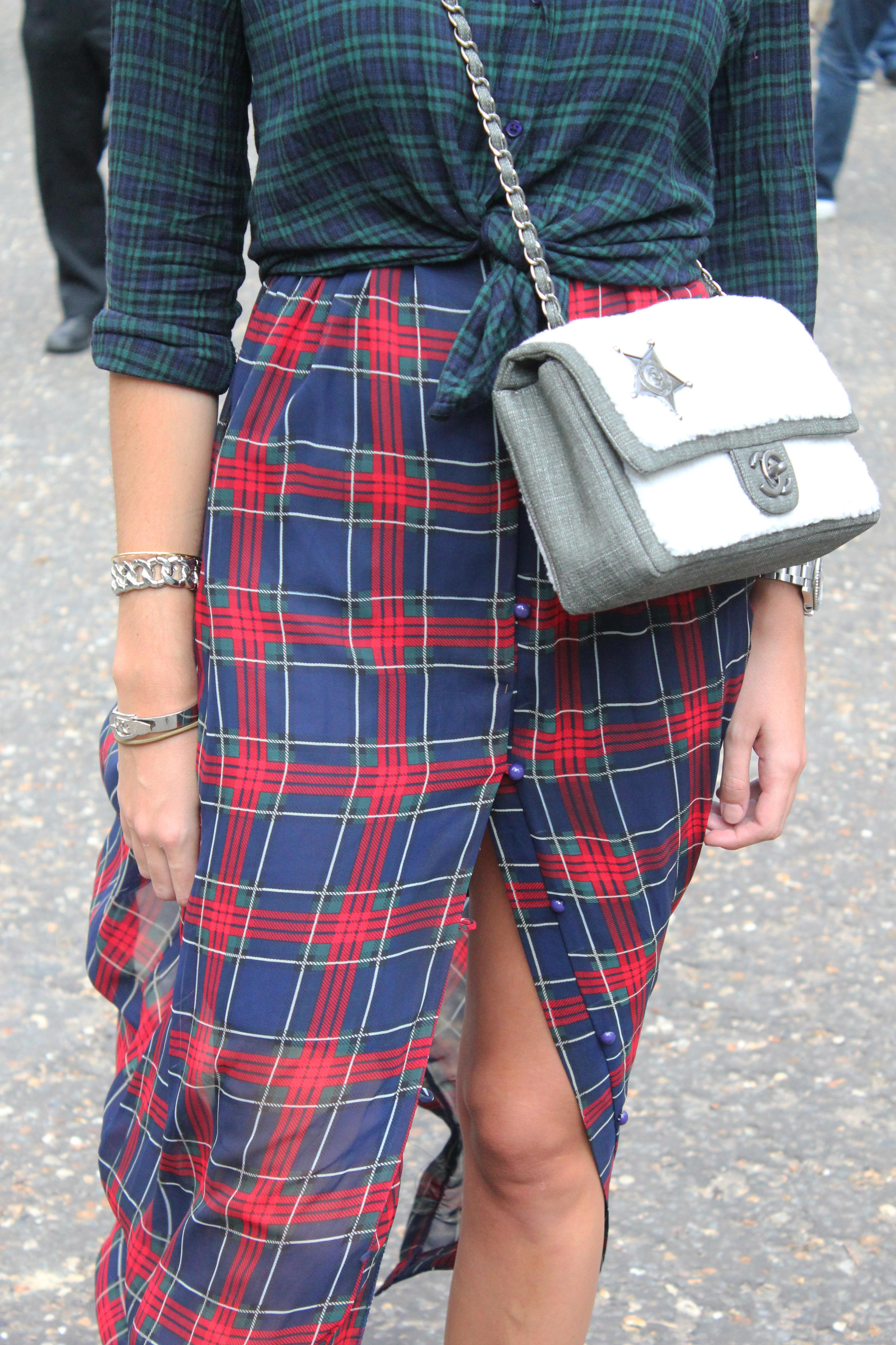 Chanel bag via Farfetch
