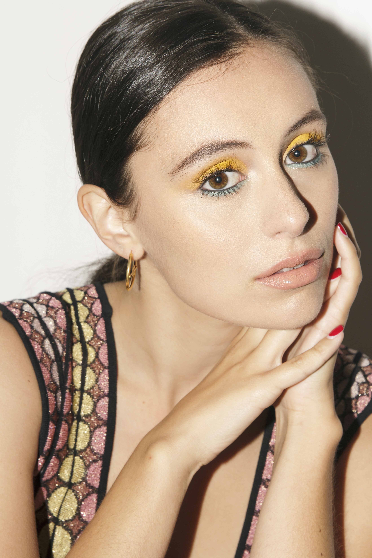 Actress and Influencer Marta Pozzan featured on Prune Magazine wearing M Missoni.