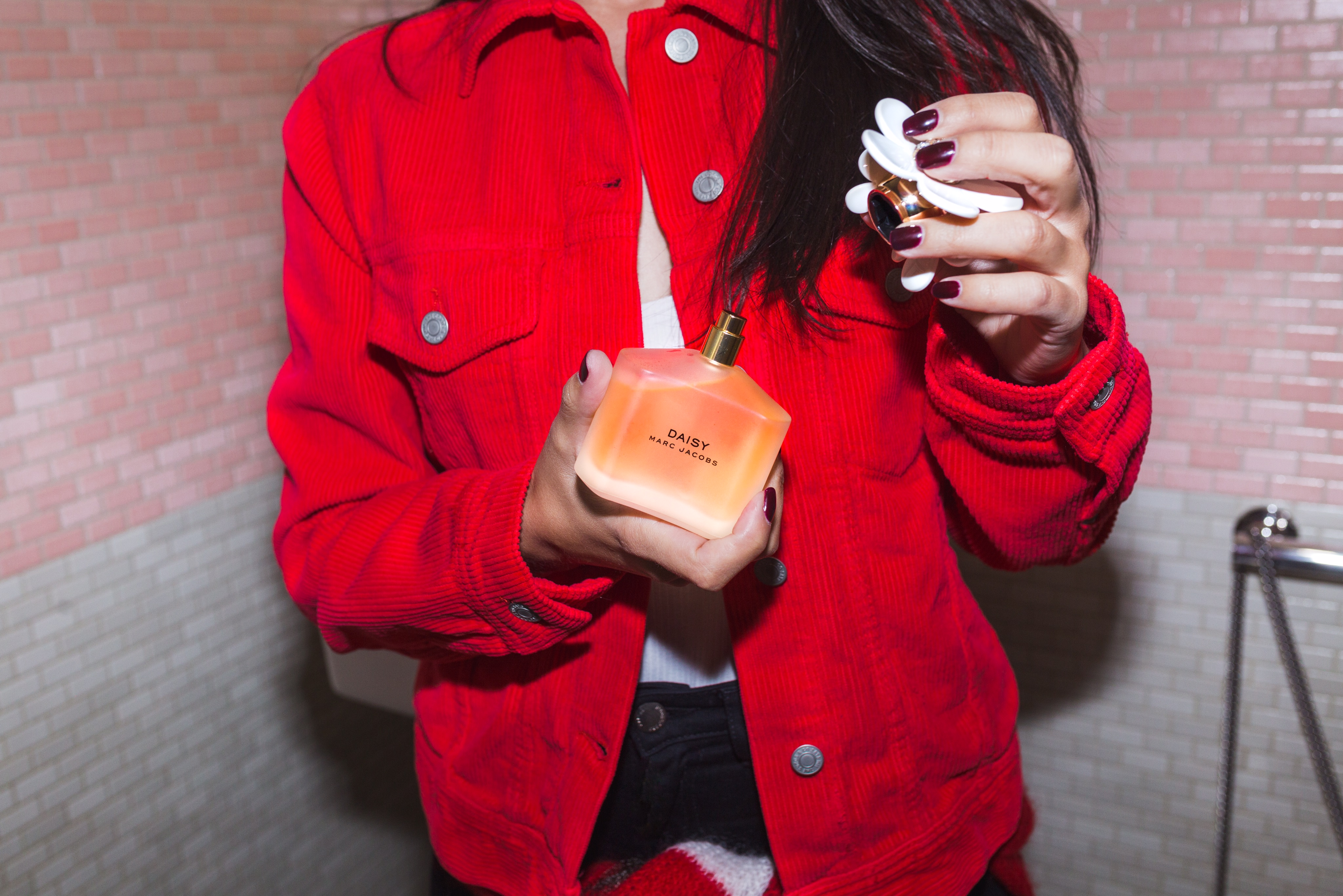 Actress and Influencer Marta Pozzan for MARC JACOBS DAISY
