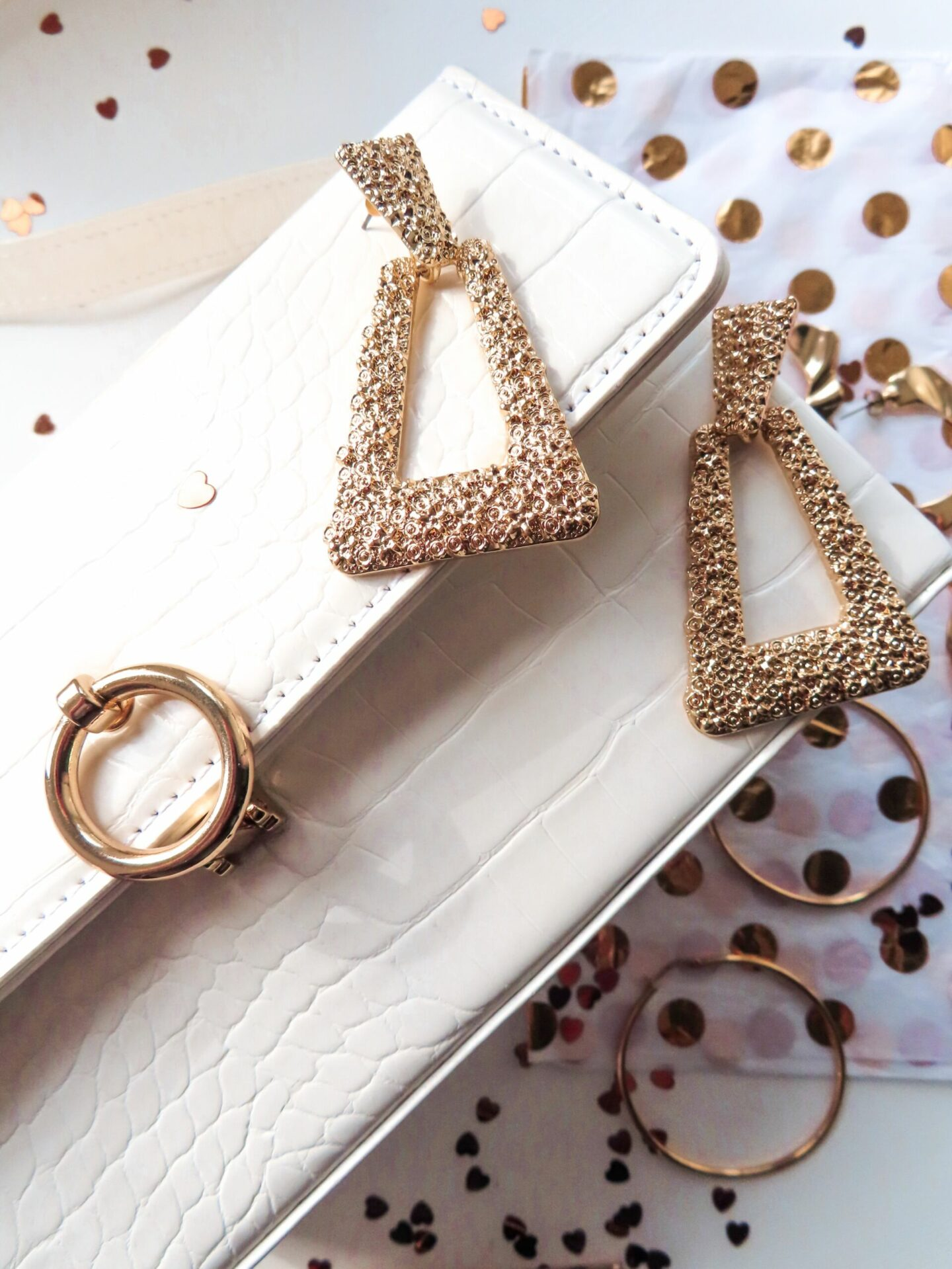 topshop gold accessories