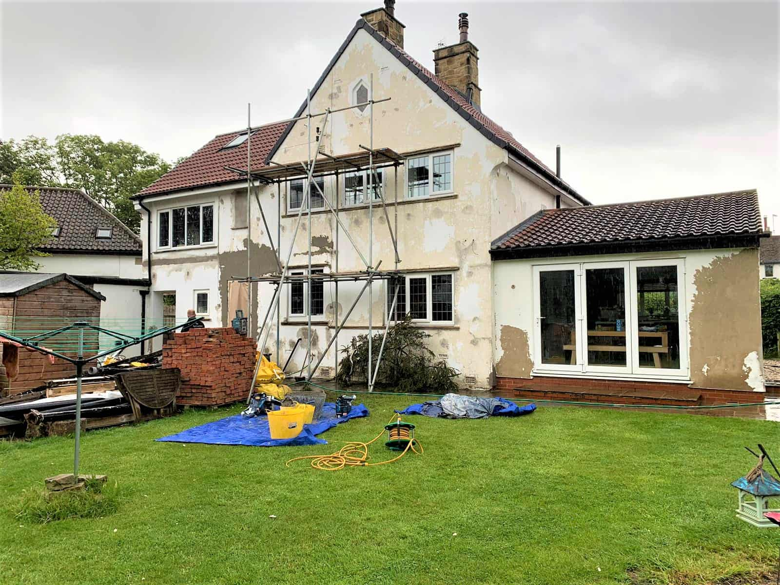 A house in Harrogate in need of TLC and exterior house painting