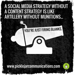Social media strategy nonsense
