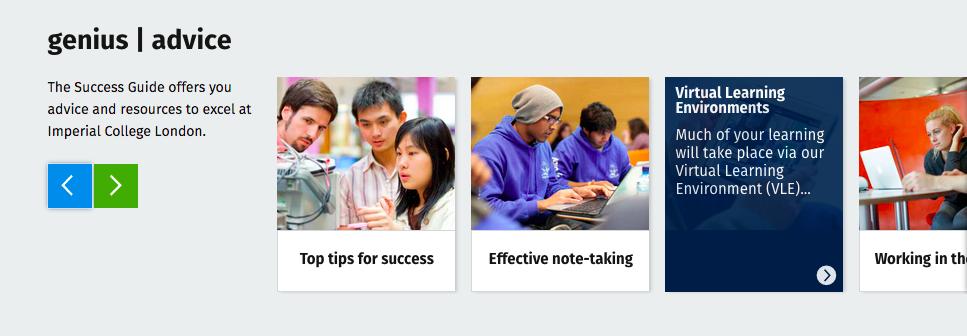 Success Guide content