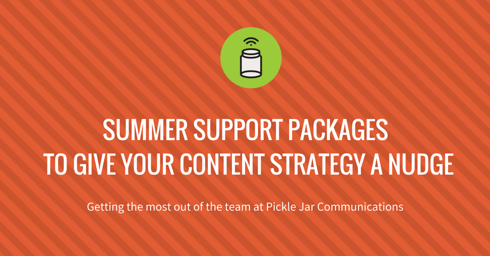 summer support packages from Pickle Jar