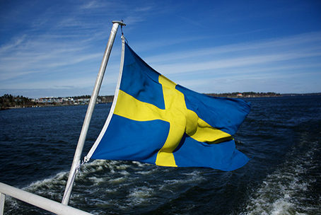 Swedish Flag, image under CC license from Christopher Neugebauer