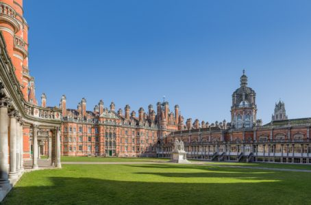 The Founder's Building at Royal Holloway University