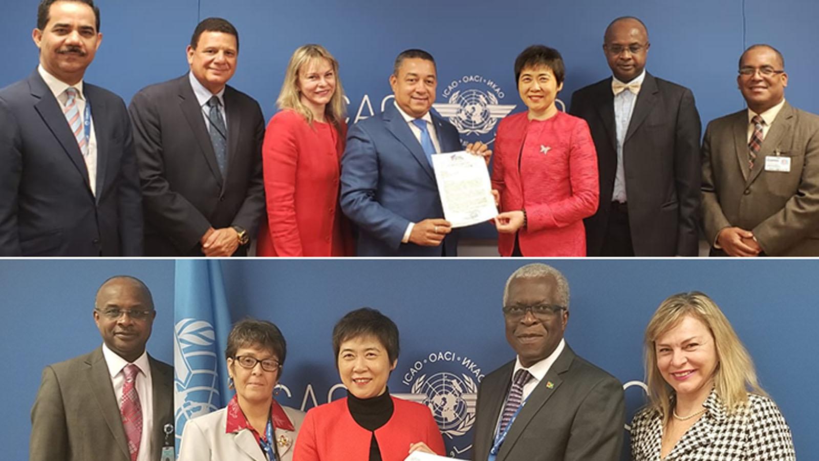 Dominican Republic and Guyana confirm CORSIA participation