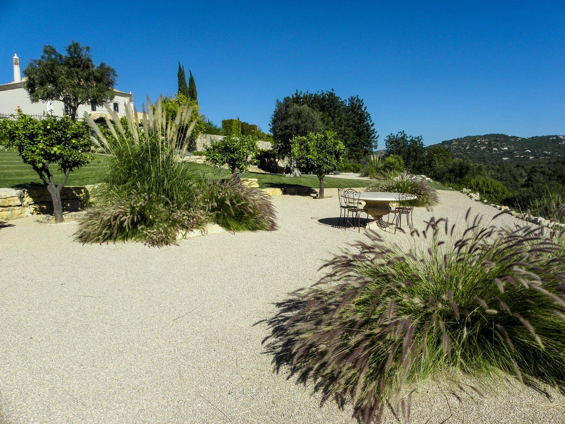 algarve country garden design