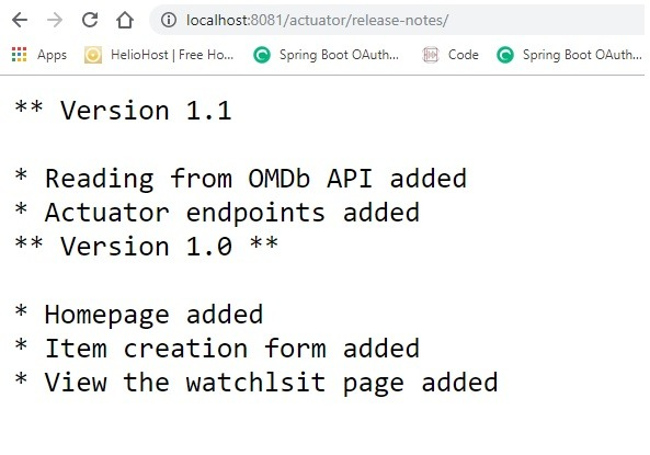 Create custom Actuator endpoints - Daily Code Buffer