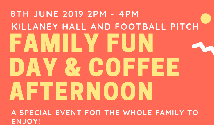 Family Fun Day & Coffee Afternoon This Saturday