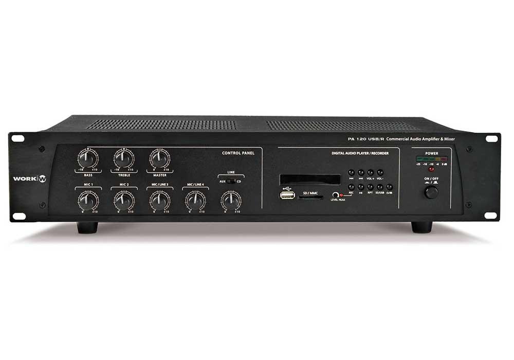 amplifiers-work-PA 120 USB/R