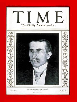 Leguía: Time, 8 September 1930