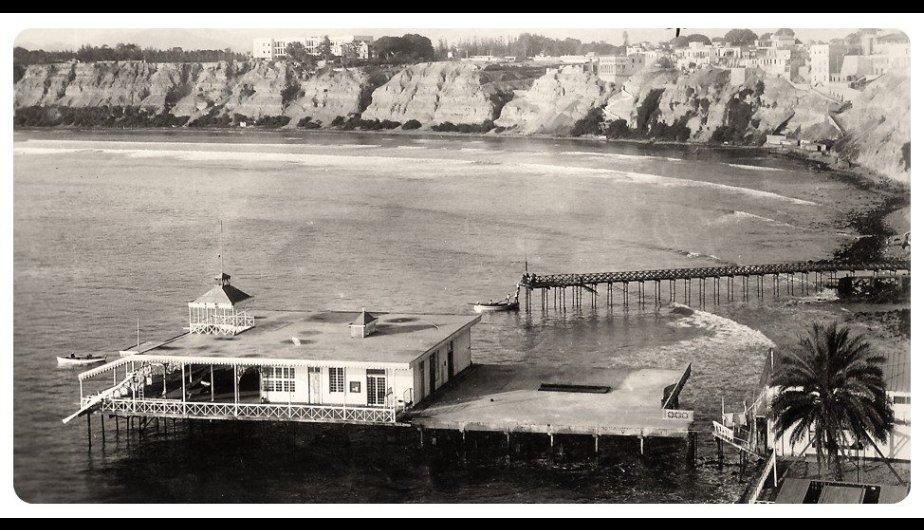 Club Regatas, Chorrillos circa 1930
