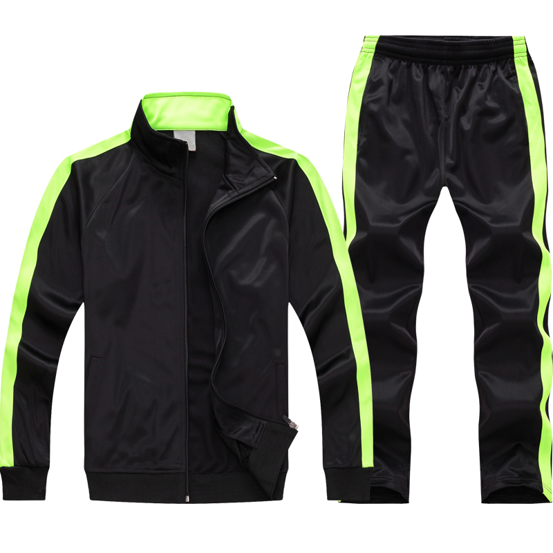 LIGHT LIME GREEN AND BLACK