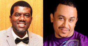 Reno Omokri blasts Daddy Freeze for questioning Apostle Suleman's private jet